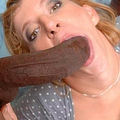 Interracial tongue.